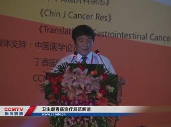 胃癌 诊疗策略 指南 MDT 徐惠绵:卫生部胃癌诊疗规范解读