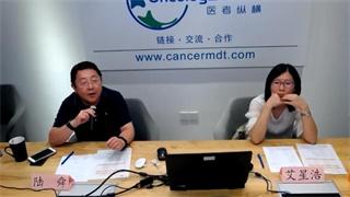 肺癌 病例讨论 在线MDT病例讨论:右肺上叶后段肿块,纵隔多发增大淋巴结病例