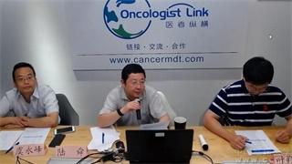 肺癌 病例讨论 在线MDT病例讨论:右肺下叶及左肺上叶多发肿块纵隔内见增大淋巴结影病例