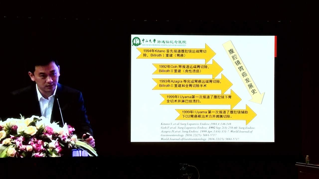 结直肠癌 外科讲坛 诊疗策略 韩方海:腹腔镜胃癌发展史