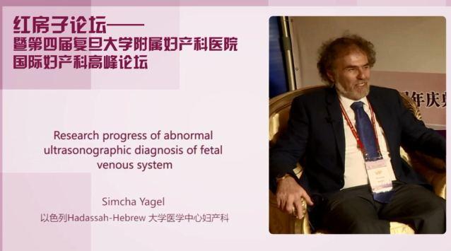 妇科疾病 外科讲坛 Simcha YAGEL:胎儿静脉系统异常的超声诊断