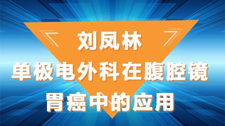刘凤林:单极电外科在腹腔镜胃癌中的应用