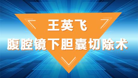 王英飞:腹腔镜下胆囊切除术
