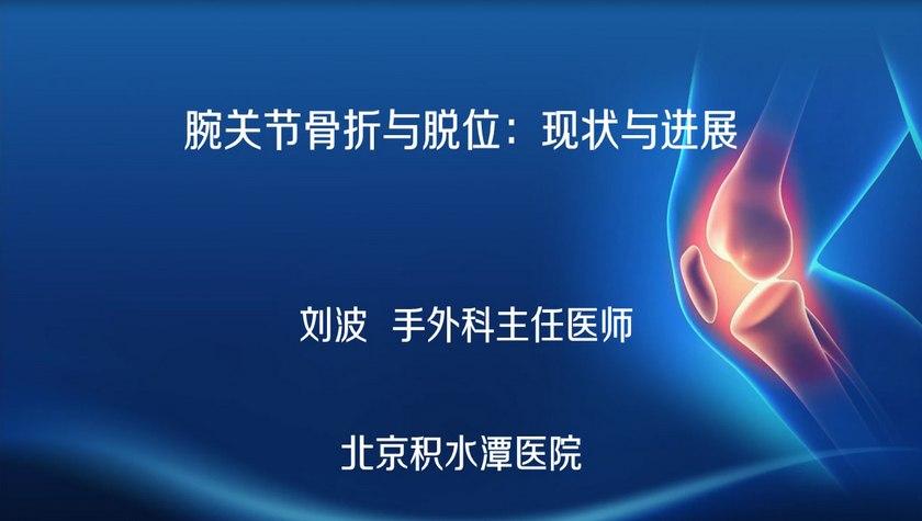 刘波 刘波:腕关节骨折与脱位:现状与进展