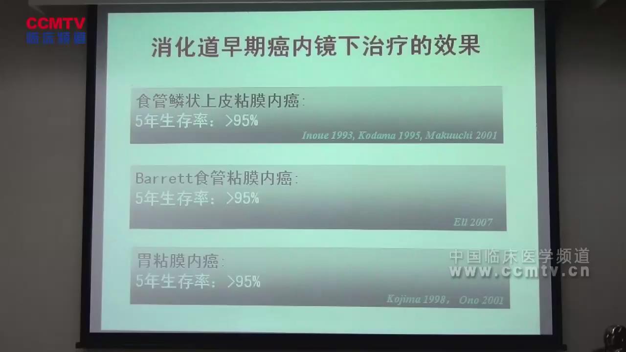 王贵齐:早期消化道癌及其癌变前病变内镜下治疗