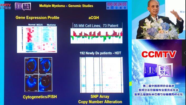 多发性骨髓瘤 诊疗策略 突变 Nikhil C.Munshi:多发性骨髓瘤基因突变和克隆介绍