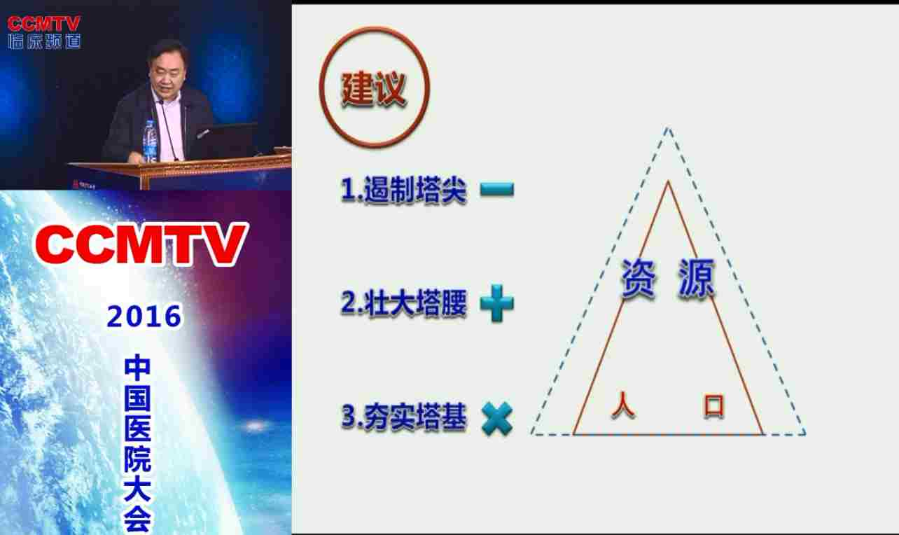 医政 医改 樊代明:全民健康和医学事业国家发展战略研究报告