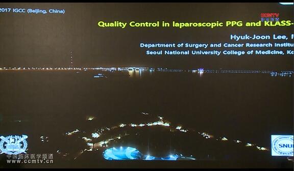 胃癌 诊疗策略 腹腔镜 PPG KLASS-04 质量控制 Hyuk-Joon Lee:腹腔镜与PPG klass-04质量控制