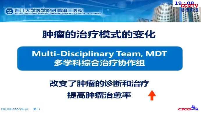 结直肠癌 学科建设 MDT 规范化 袁瑛:结直肠癌MDT团队的优化与推广