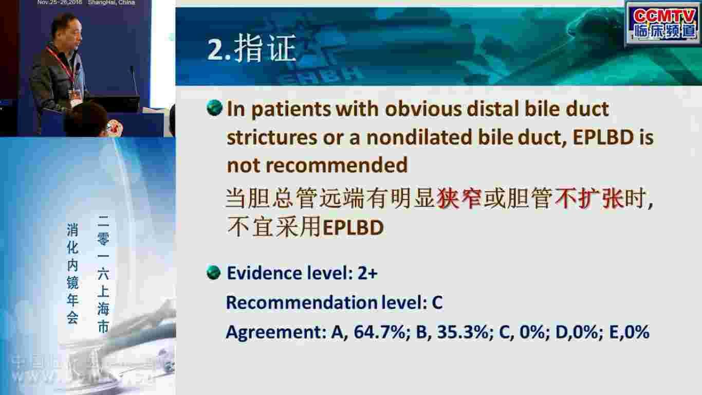 胆系疾病 外科讲坛 微创 内镜 胆管狭窄 胡冰:乳头大气囊扩张术:EBM依据