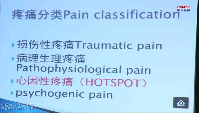 疝气 心理治疗 王勇:心因性疼痛