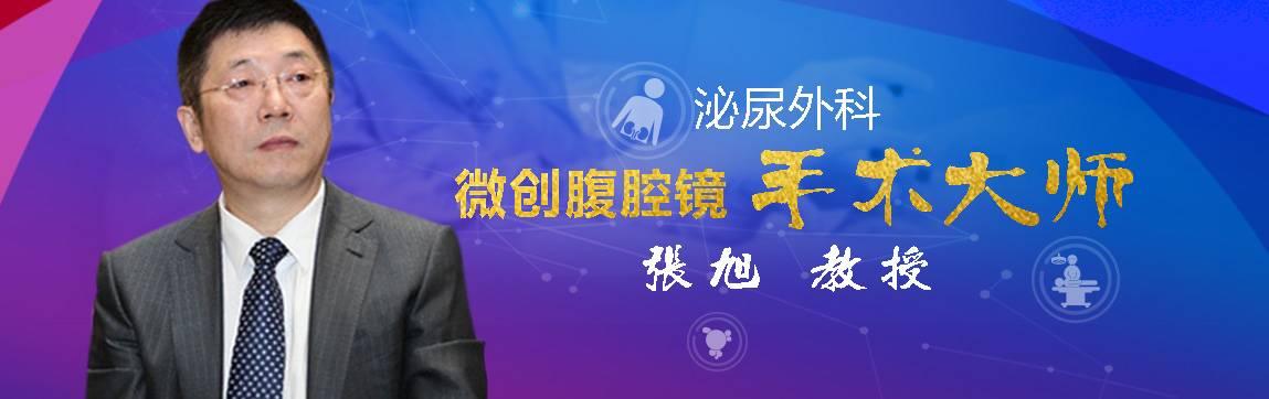 泌尿外科 微创腹腔镜手术大师 - 张旭