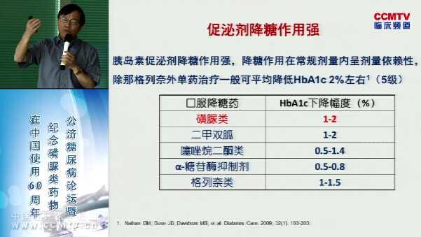 糖尿病 诊疗策略 指南 胰岛素促泌剂 磺脲类 指南共识 童南伟:中国成人2型糖尿病胰岛素促泌剂应用的专家共识